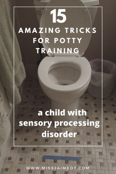 potty training, sensory processing