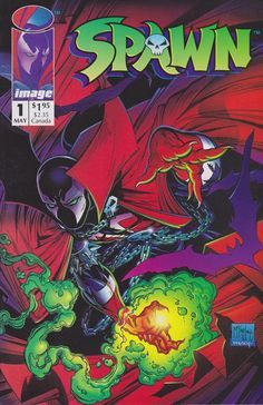 Spawn #1. I will own this issue one day.