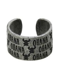 Disney Lilo & Stitch Ohana Ring