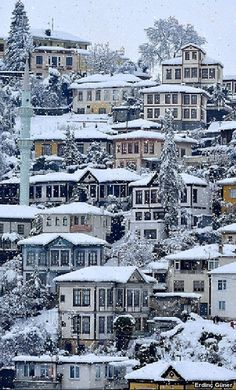 Historical (Ottoman Empire Era) Houses in Akçaabat, Trabzon ⚓ Eastern Blacksea Region of Turkey The Beautiful Country, Beautiful Places In The World, Trabzon Turkey, Places To Travel, Places To Go, Visit Turkey, Turkey Travel, Istanbul Turkey, Paris Travel