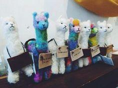Felted alpaca
