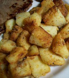 Golden Diced Potatoes II