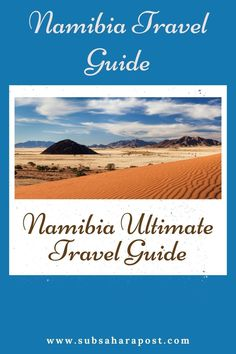 Situated at the South-western coast of Africa, Namibia is one of the most riveting destinations to visit on earth especially for nature fanatics.Here is Namibia ultimate travel guide that will make your trip planning a tad bit easier. Here you'll learn about Africa travel,Africa travel destinations, Africa travel guide,Africa travel beautiful places & Africa travel photography. #travelafrica #africatravel #travelsouthafrica #namibia Best Holiday Destinations, Travel Destinations, South Africa Facts, South African Holidays, Travel Guides, Travel Tips, Western Coast, Riveting, Ultimate Travel