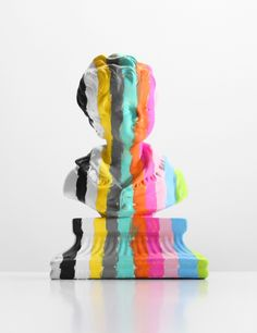 Bust of a Boy with Stripes (2013)