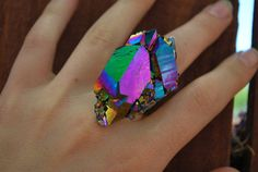 Etsy's MarinaFINI Shop Features Spiritually Chic Jewelry #holographic trendhunter.com