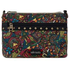 Sakroots Rainbow Spirit Desert Artist Circle Campus Mini (120 BRL) ❤ liked on Polyvore featuring bags, handbags, shoulder bags, rainbow spirit desert, mini crossbody handbags, shoulder strap bags, over the shoulder handbags, crossbody handbags and lightweight purses