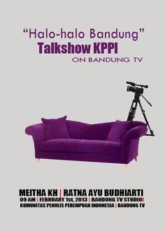 Poster untuk talkshow KPPI.