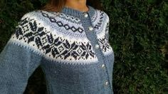 Bilderesultat for nancy kofte Fair Isle Knitting Patterns, Knitting Ideas, Ravelry, Diy And Crafts, Pullover, Creative, Sweaters, Knits, Crocheting