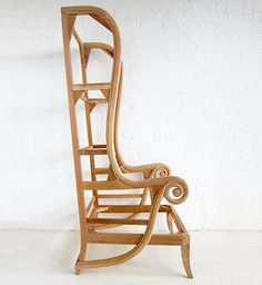 Tall Porters Style Chair / Porters Wing Chair / Dutch Connection