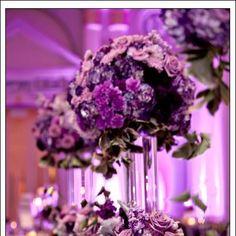 Purple Pink Passion with purple intelligent lighting