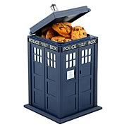 Doctor Who TARDIS Talking Cookie Jar   http://www.entertainmentearth.com/tv.asp