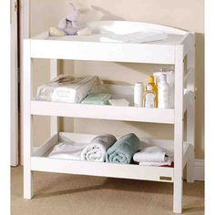 Baby Changing Table Dresser Nursery Room Storage Shelves Towel Rail Wooden Pine for sale online White Changing Table, Baby Changing Tables, Changing Table Dresser, Room Furniture Design, Kids Room Furniture, Nursery Dresser, Nursery Room, Room Baby, Nursery Themes