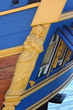 The Endeavour - Stern Ornamental Carving