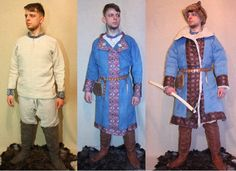 10 century hungarian from Nikita Bolbikov Medieval Clothing, Historical Clothing, Russian Folk, Traditional Dresses, Hungary, Vikings, Costumes, History, The Originals