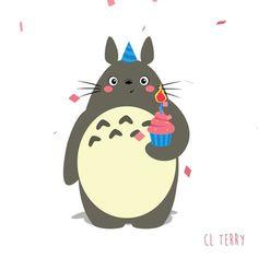 L'animateur et motion designer australien CL Terry s'amuse à imaginer la vie secrète de Totoro, le célèbre personnage d'Hayao Miyazaki, avec des GIFs ani