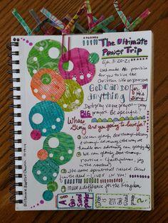 His Artist: Sunday Sermon Notes & Collage