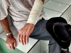 #News  Filho é preso após agredir pai de 90 anos duas vezes em Patos de Minas