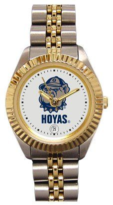 Georgetown University Hoyas Ladies Executive Stainless Steel Sports Watch by SunTime. $149.99