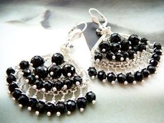Ruffles chandelier Bollywood earrings  by CleopatraKerckhof, $148.00
