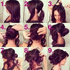 I'm going to try this for my cousins wedding. - Click image to find more hair posts