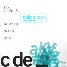 Los premios Club de Creativos de España vuelven a #SanSebastian 16, 17 y 18 de marzo #cdec2017 en el Palacio de Congresos y Auditorio Kursaal  Toda la info, pinchando sobre la imagen.