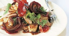 For a special dinner, serve pork fillet with roasted, smashed potatoes and crispy shards of prosciutto.