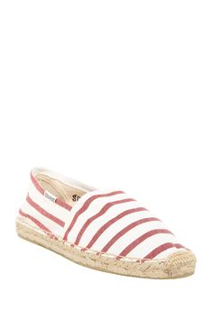Original Classic Stripe Espadrille Slip-On Shoe by Soludos on @nordstrom_rack