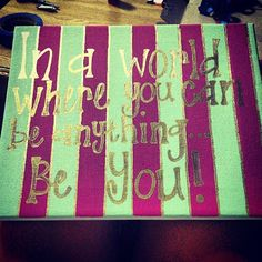 Custom Quote Canvas on Etsy, $30.00