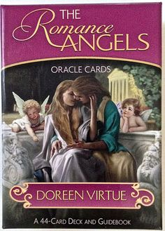 Romance Angels Oracle Cards by Doreen Virtue 44 Card Deck Guidebook Metaphysical