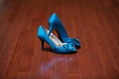 Why not make your something blue your shoes like this bride did for her wedding at The Great Hall & Conference Center! It adds the perfect touch! Click the image to learn more about this wedding venue. Photo credits: Snap Happy Photography