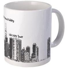 Chicago Skyline Mugs on CafePress.com
