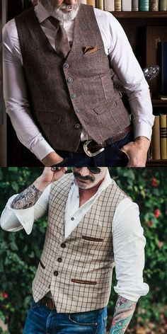 Discover the classical vest for men with menily. A variety of styles like classical,gentlemanly,fashionable fit you! Gents Fashion, Trendy Fashion, Male Fashion, Fashion Ideas, Men's Waistcoat, Music Festival Fashion, Sharp Dressed Man, Spanish Style, Gentleman Style