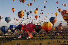 The Albuquerque International Balloon Fiesta October 1-9, 2011