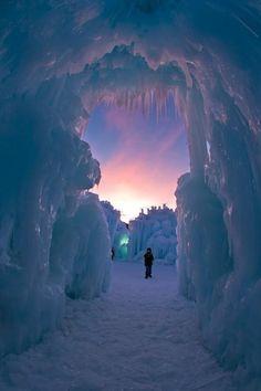 Ice Castle, Utah