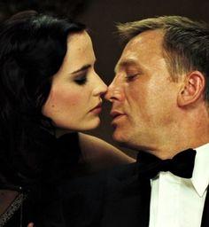 concealedsimplicity: Eva Green and Daniel Craig, Casino Royale Eva Green James Bond, Style James Bond, James Bond Women, I Movie, Movie Stars, Daniel Craig James Bond, Best Bond, Deneuve, Sean Connery