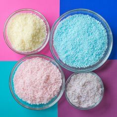 Make Baked Bath Salts   Great DIY bridesmaids gift that can be customized to make different scents and colors