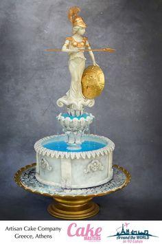 Athens, Greece by Artisan Cake Company