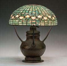 Tiffany Studios NY Acorn Lamp