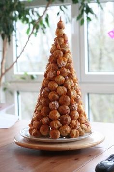 Croquembouche...these are fun to do