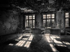 Lier Mental Hospital (Norway) | 20 Haunting Pictures Of Abandoned Asylums