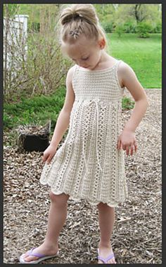 Ravelry: Early Girl Dress pattern by Lisa Naskrent
