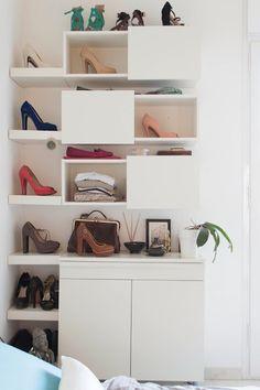 Atrévete a dejar los zapatos a la vista | Decorar tu casa es facilisimo.com