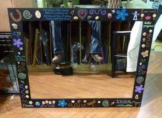 We frame mirrors and sometimes even paint the frames to personalize them for certain customers!