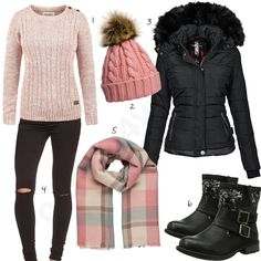 15 more women& winter fashion hats , , damen wintermode hüte , Winter Outfits Casual Cold, Plus Size Winter Outfits, Winter Fashion Outfits, Autumn Winter Fashion, Fall Outfits, Casual Outfits, Winter Clothes, Black Women Fashion, Look Fashion