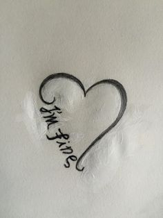 I'm fine/save me ambigram                                                       …