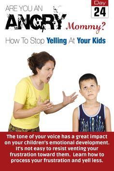 Day 24 of the 30-day challenge. The tone of your voice has a great impact on your children's emotional development. Nevertheless, it is not easy to resist venting your frustration toward them. This article will give you tips on how to process your frustration and reduce your yelling at your children. http://beyondburnout.com/challenge