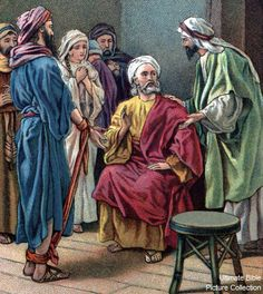 Acts 21 Bible Pictures: Paul warned by Agabus