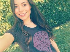 WEBSTA @ mirandacosgrove - Buy this tee-shirt at lollipoptheater.org and help LOLLIPOP bring the magic of movies to seriously ill kids across the nation. @lollipoptheater #livelovelollipop #wearsharelollipop