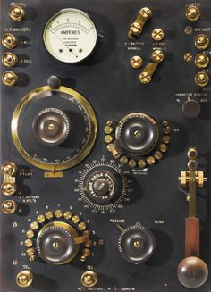 C.W. transmitter/receiver, Mk.1, / H W Sullivan Limited UK 1917