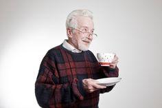 Happy Old Man Drinking Chooski Tea !!!
